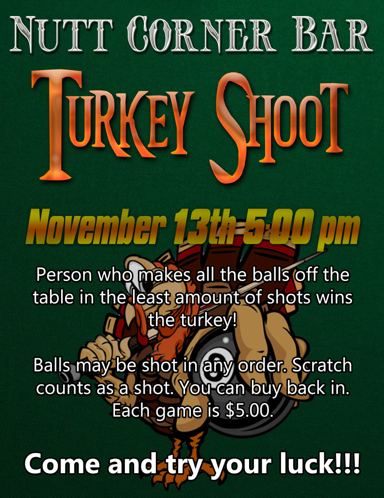 Nutt Turkey Shoot